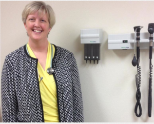 Photo by Bryan Thompson Dr. Jennifer Brull, who has a private family practice in the northwest Kansas town of Plainville, will serve as the medical director for Aledade Kansas, an accountable care organization.