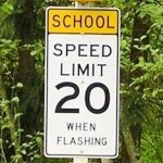 Reduced Speed School Zones in Effect for Summer School
