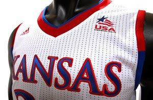 Kansas Gives First Glimpse of USA Uniforms