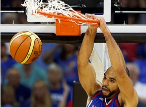 Perry Ellis was the first to double-digits and ended with 17 points in the win.-University of Kansas photo