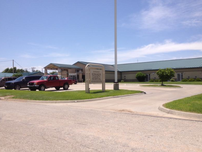 Photo by Bryan Thompson Edwards County Hospital in Kinsley is participating in a Kansas Hospital Association initiative aimed at helping rural hospitals. -