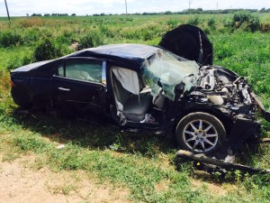 Thursday afternoon crash in Saline County