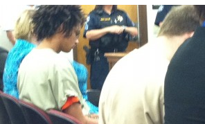 Hutchinson teens at a previous court appearance in Reno County