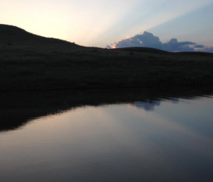 Horse Thief Reservoir in Southwest Kansas