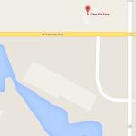 Culver fish farm Google map