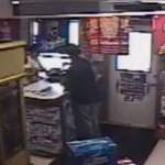 police photo from inside the store