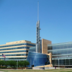 Cerner's headquarters in North Kansas City. photo by ELANA GORDON KCUR