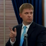 Kansas Budget Director at Thursday's news conference