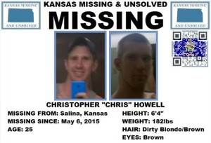 McPherson Authorities Searching for Man Missing from Salina