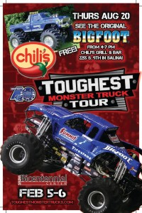 See The Original Bigfoot at Chili's August 20th