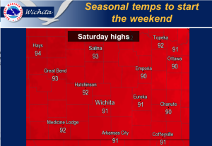 Hot, Storm Free Weekend Ahead