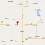 Fredrick is located on Kansas 4 east of Bushton- click to expand- google map