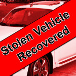 Stolen Vehicle Recovered, Texas Man Arrested