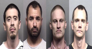 Four Arrests Made from Salina's Most Wanted List