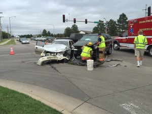 UPDATE: No Serious Injuries in Accident Near Jerry Ivey Park