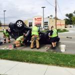 UPDATE: Rollover Accident Sends One To Hospital
