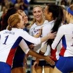 No. 9 KU Volleyball Continues Climb in National Rankings