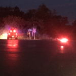 6-year-old Kan. girl dies after pickup hits a tree