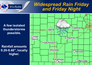 Cool, Wet Friday