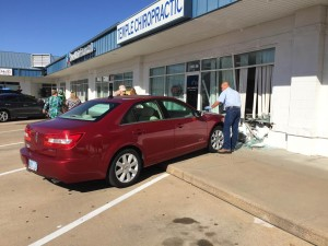 Vehicle Crashes Into Chiropractic Clinic