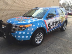 Sheriff's Office Has New Prevention Officer and DARE Vehicle