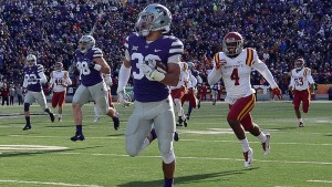K-State's Burns Earns Second-Straight Big 12 Weekly Honor