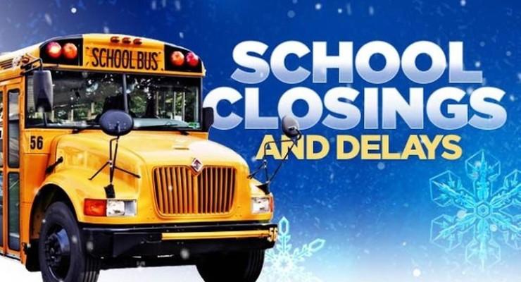 School Closings & Delays – Monday, November 30