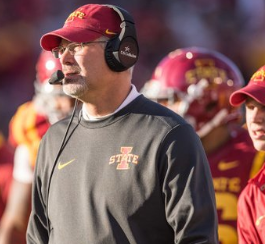 After Loss To KSU, Iowa State Fires Head Football Coach