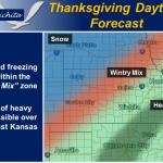 Hazardous Travel Conditions Thanksgiving Day