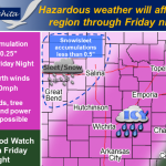 NWS: Winter storm WARNING