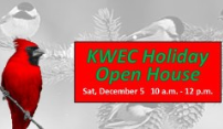 Holiday Open House at Kansas Wetlands Education Center