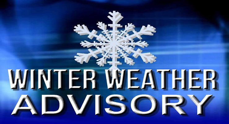 NWS: Winter weather ADVISORY
