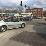 No Injuries in Two Vehicle Accident at Iron & Ohio