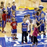 KU Men's Hoops Hosts Annual Holiday Clinic on Dec. 27
