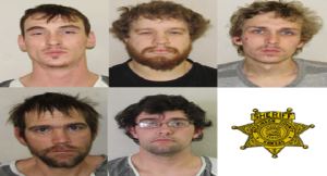 Five Arrested on Drug Charges in Abilene