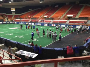 Final Liberty Tryout Session Signals Beginning of Season