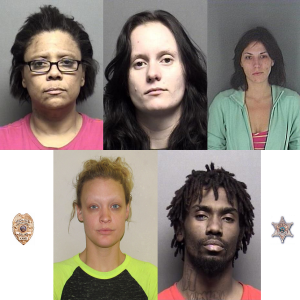 Five More Arrests Made From January Most Wanted List