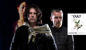 Indie Band The Cult To Peform at Stiefel Theatre