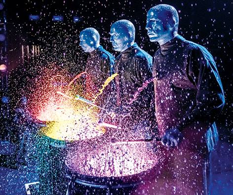 Blue man group coming to bicentennial center the salina post - Blue man group box office ...