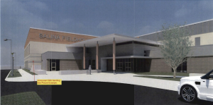 Artist rendering of the Downtown Field House