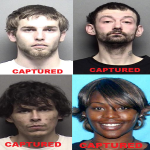 Four Arrested from February Most Wanted List