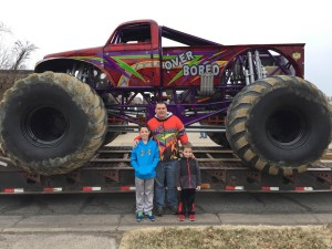 "99KG's ""Monster Truck To School"" Winners Go ""Over Bored""!"