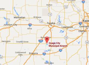 Kansas man avoids injury after small plane blown off runway