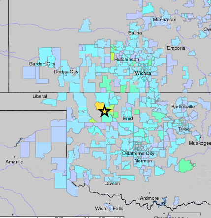 Earthquakes Felt Across Kansas 6 Other States