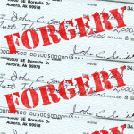 Woman Arrested for Check Forgery