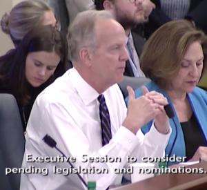 Moran Cites Concerns at Salina Airport in Senate Commerce Committee Hearing