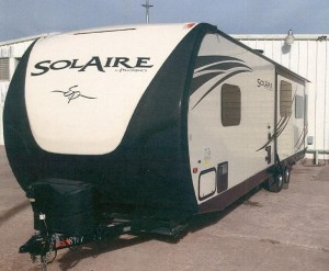 Camper Stolen from Salina Business