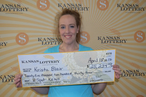 First-Time Salina Keno Player Wins More Than $25,000