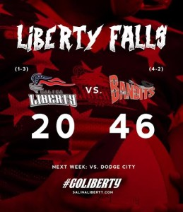 Liberty Fails to Score in Second Half, Falls to Sioux City