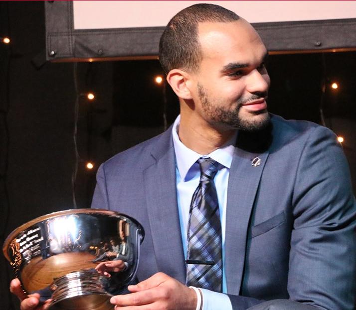 Ellis Receives Mr. Jayhawk Award at Team Banquet - The ...